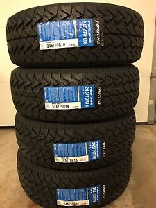 245/70R16 or 235/60R17 ONLY $460 A/T All Season