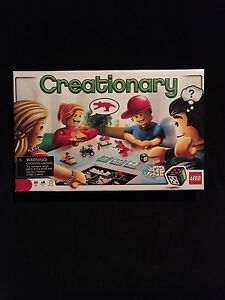 Lego Creationary game-EUC-please check my other ads