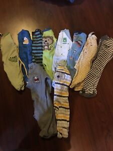 Boys sleepers 6-9 months Lot # 13