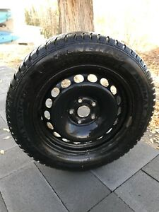 Mounted and balanced winter tires for sale