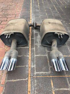 Holden VE V8 Mufflers