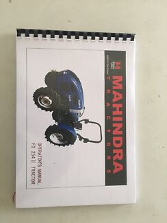 Operating manuals for tractors  Kangaroo Valley Shoalhaven Area Preview