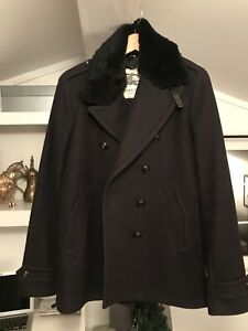 Men's Burberry Double Breasted Coat