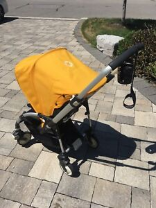 Excellent condition Bugaboo Bee (2010) stroller + accessories