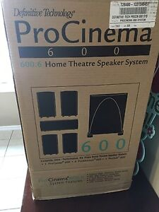 Definitive Technology Pro Cinema 600  Speaker System