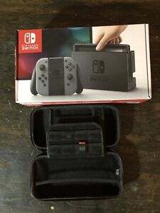 Nintendo switch in box, carry case, Harvest Moon