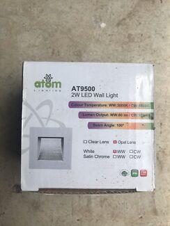 LED wall light.