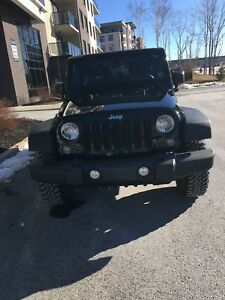 2014 Jeep Rubicon under 80k