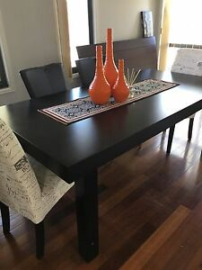 200 x 100 walnut Nick Scali wooden dining table Mudgeeraba Gold Coast South Preview