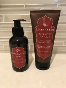 New - Marrakesh Hair Product Duo