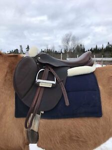 Laura B M Toulouse Wide saddle