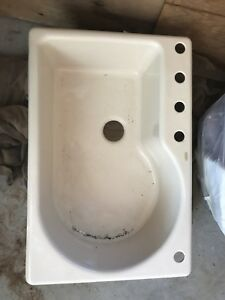 Kohler cast iron sink