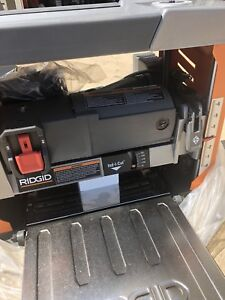 "Brand-New Ridgid 13"" thickness Planer 3 blade cutter head"