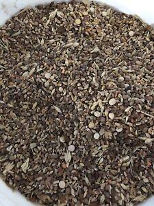 Mixed grain feed screenings