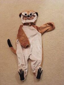 Lemur Toddler Halloween Costume 12-18 months