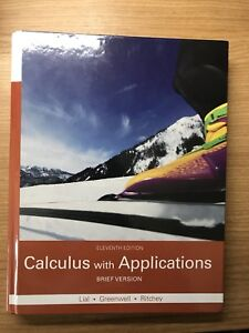 Calculus with Applications Trent U