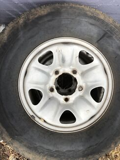 LANDCRUISER 100 Series 5 x Steel rims 275/70 R16 Attadale Melville Area Preview