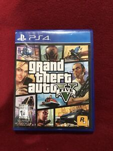 Grand Theft Auto 5 PS4 Barely Used