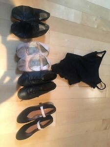 Dance shoes- jazz , ballet, tap, character shoes.