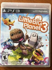 PS3 Little Big Planet 3 Game  - Sold PPU