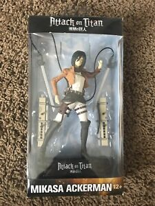 Anime Collectables Mikasa Ackerman, Attack on Titan! BNIB