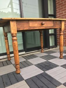 Vintage Table - Kitchen, Dining or Work