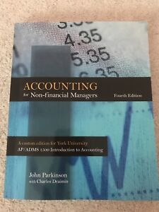 Accounting for non-financial managers-FOR SALE