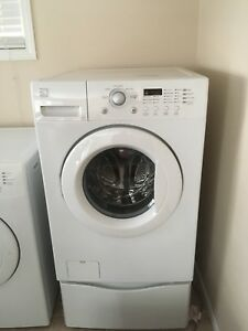 Front lode kenmore washer and dryer