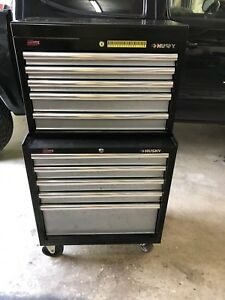 Husky 10 Drawer 2 Piece Rolling Tool Chest