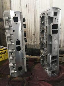 SBC 350 Aluminum Heads