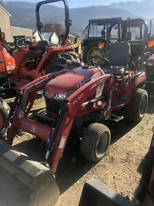 2014 GC1715 tractor with loader, 4x4
