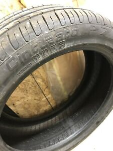 2 pneus d'été Pirelli