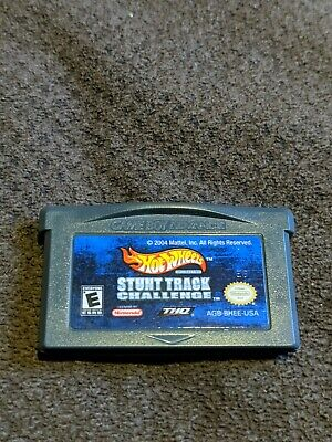 Hot Wheels Stunt Track Challenge - Game Boy Advance (GBA) - Authentic