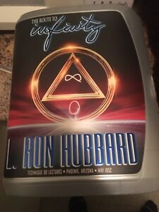 The Route To Infinity- Scientology CD lecture set - 7 CDs