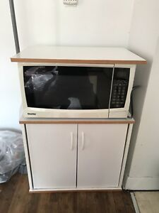 Microwave with Stand
