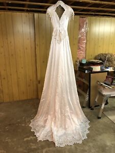 Wedding Dress with lots of detail.