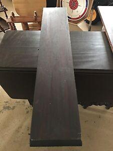 Antique drop end table