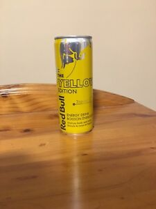 Yellow Edition Red Bull