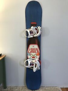 DC snowboard with UNION binding