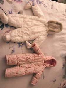 Superbes combinaisons d'hiver pour bebe