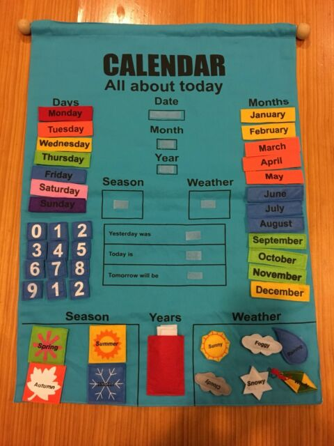 Children S Calendar Toys Indoor Gumtree Australia Whitehorse