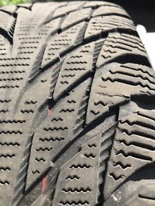 Like new Winter Tires- the safest tire on the market
