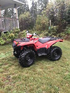 2016 and up  yamaha grizzly and kodiak 700 red plastics