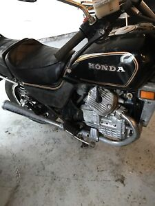 Two Honda 500 cc  two bikes one price two bikes