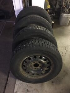 Dodge Winter Rims and Snow Tires