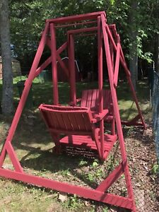 Old Fashioned Glider Swing.
