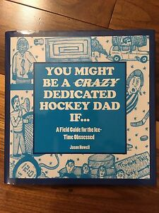Hockey Book for parents gag book