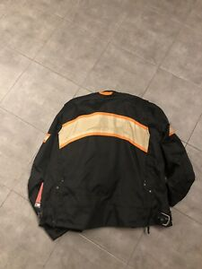 Speed and strength motorcycle jacket large