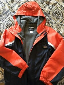 Boys OshKosh fleece lined jacket size 8