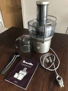 Breville Juicer Fountain BJE200XL in perfect condition